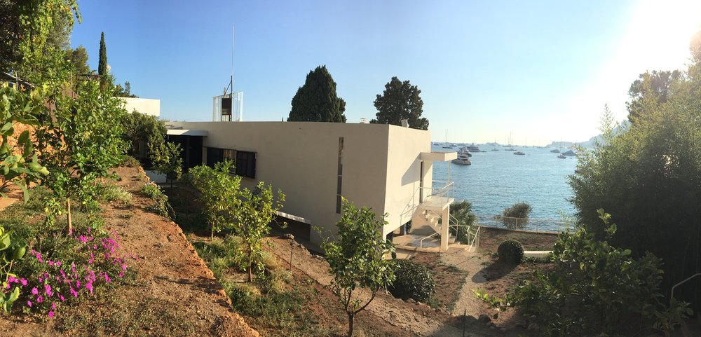 Villa E1027 and the view from the garden