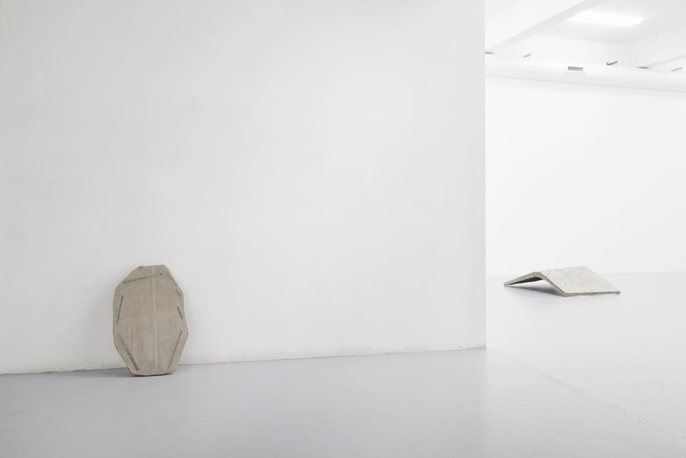 Amulet, marble, concrete, netting, 2016