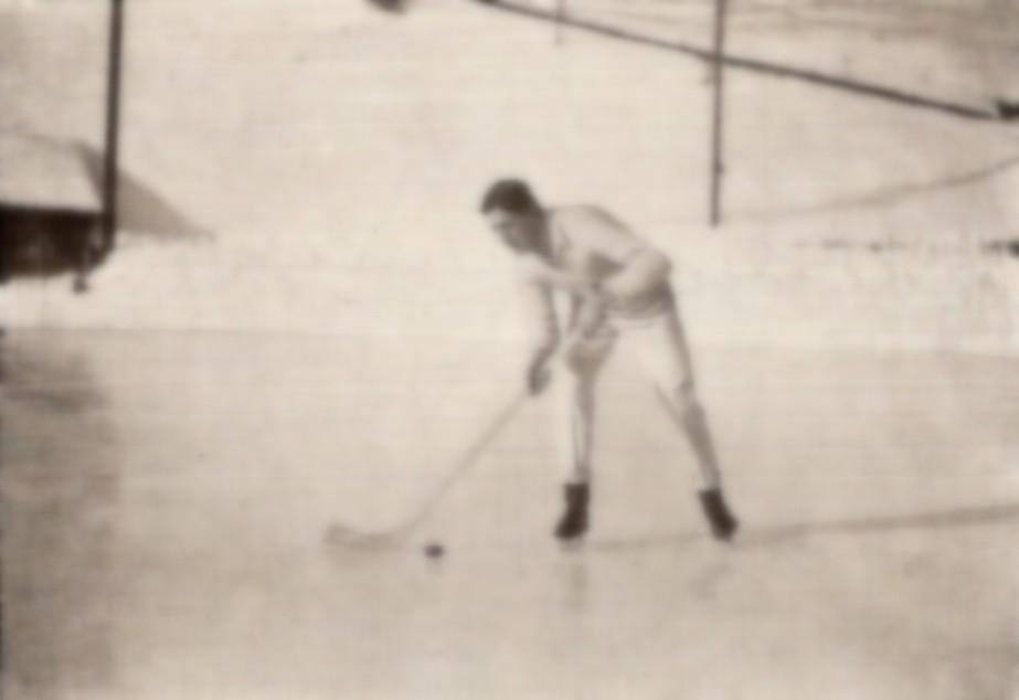 Cambridge player, Varsity match 1913, Murren, Switzerland