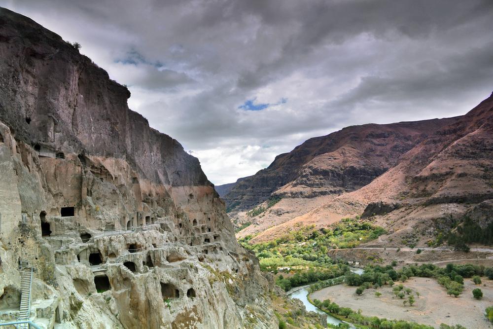 Vardzia, antiga cidade caverna, Geórgia -  veja o detalhado artigo sobre Vardzia aqui