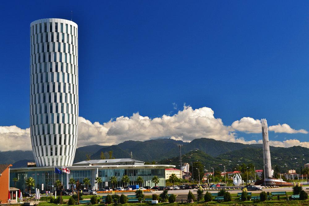 Modern architecture in Batumi