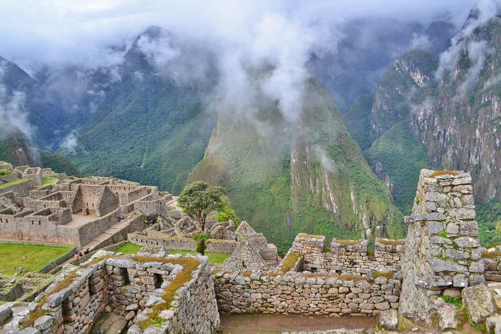 Ruins of Machu Piccu