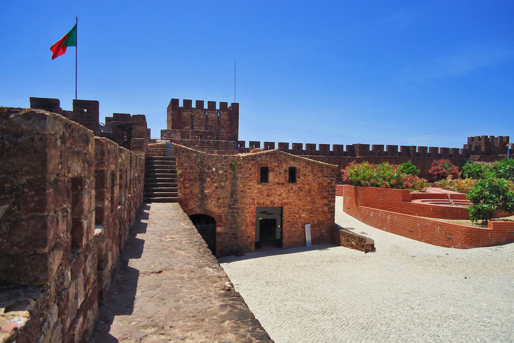 The castle in Silves