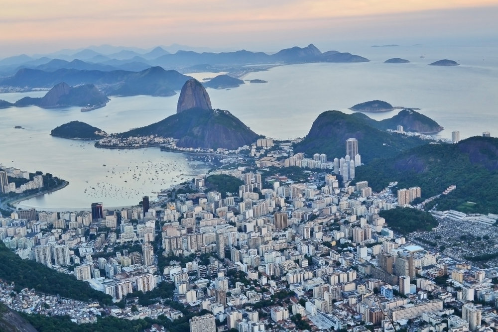 Rio de Janeiro and Sugar Loaf mountain