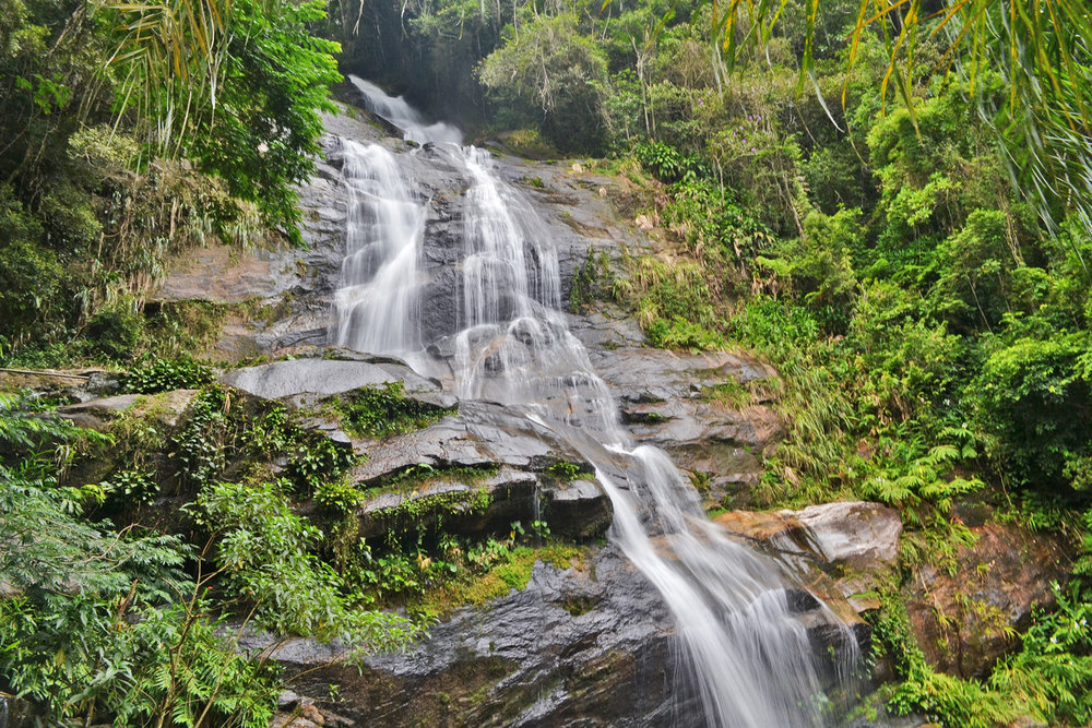 Tunay waterfall in Tijuca forest