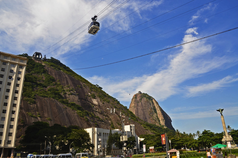 Cable car for Sugar Loaf mountain