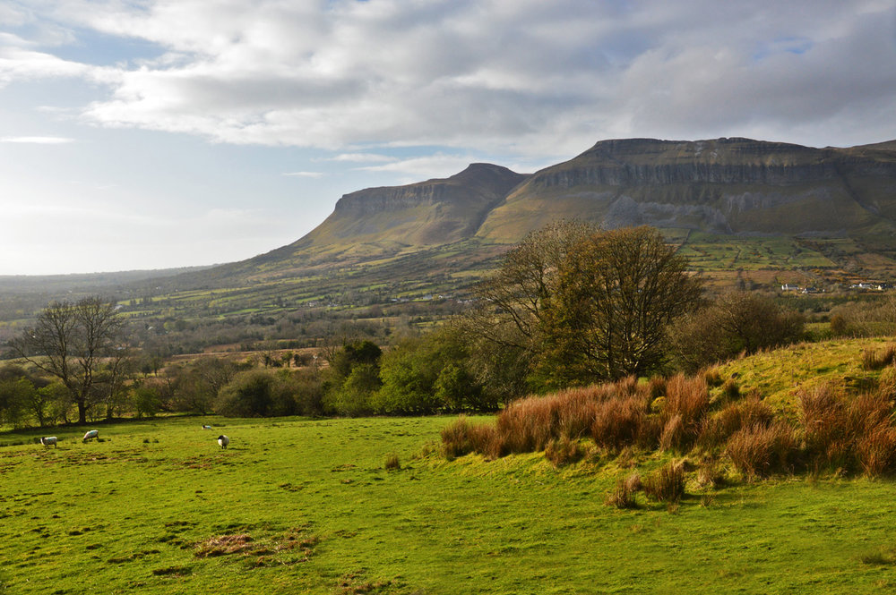 Ben Bulben mountain