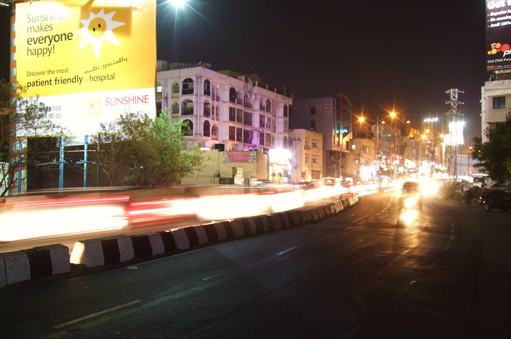 Hyderabad at night