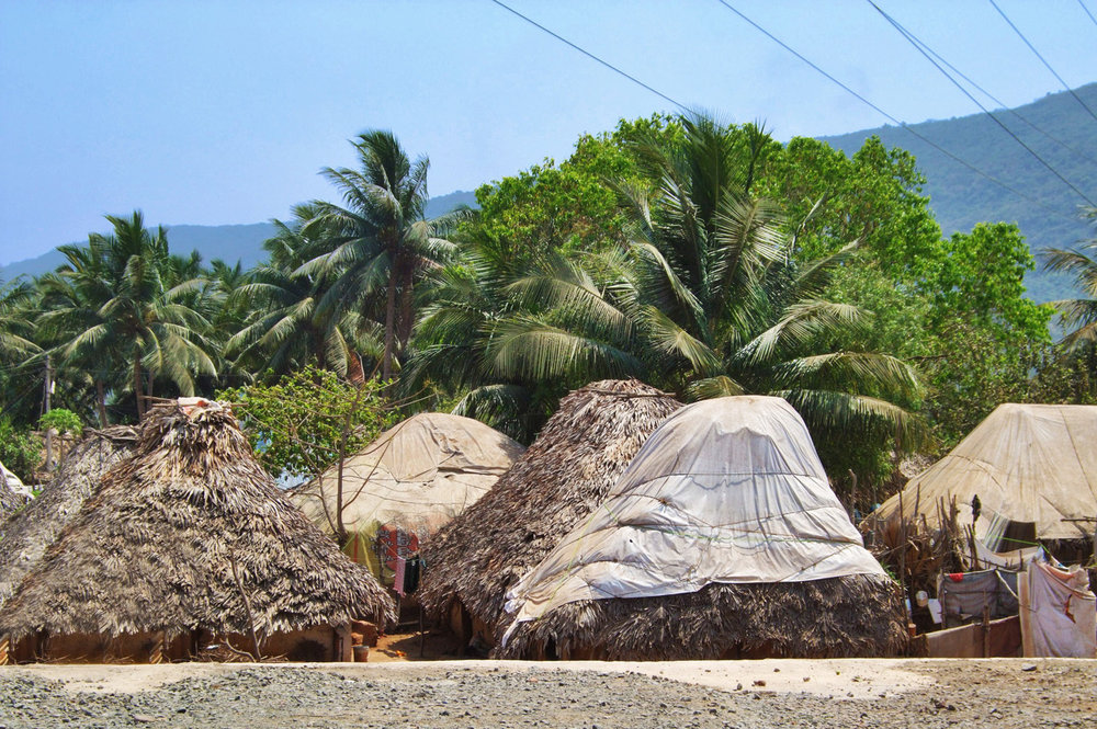 Huts in Visakhapatnam
