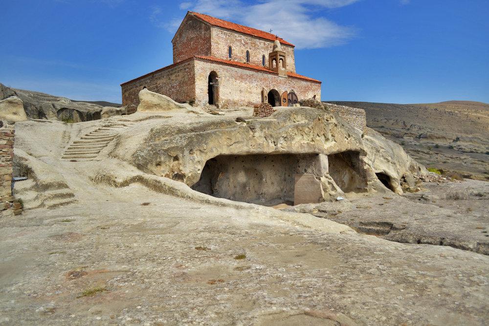 Uplistsikhe - the Basilica