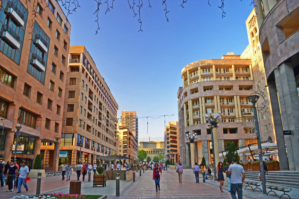 Northern Avenue in Yerevan