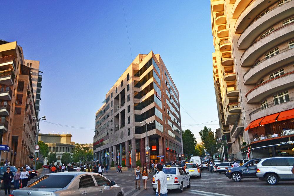 Modern Yerevan