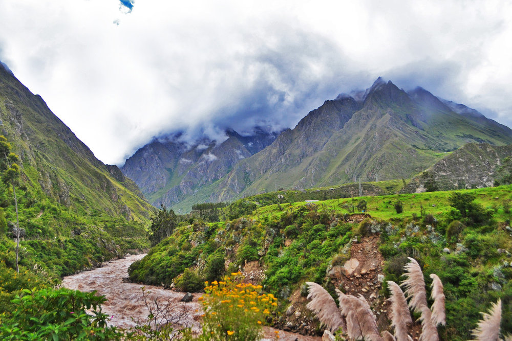 Sacred Valley - on the way to Ollantaytambo