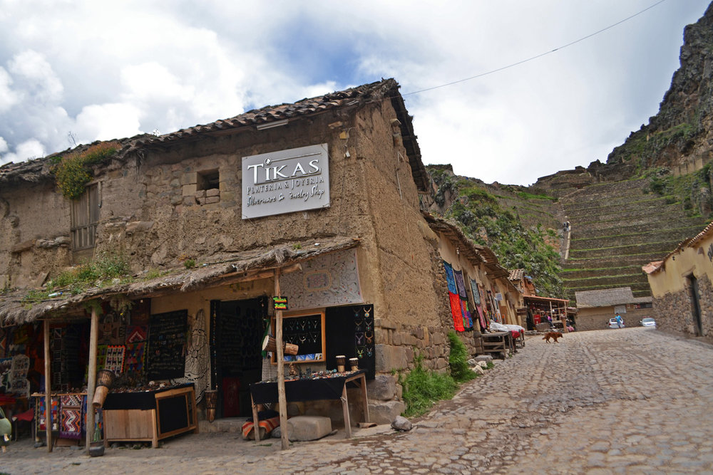 Ollantaytambo - old market