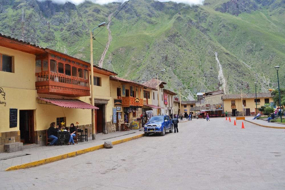 Plaza de Armas in Ollantaytambo