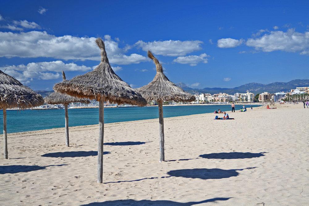 Beach in Palma de Mallorca