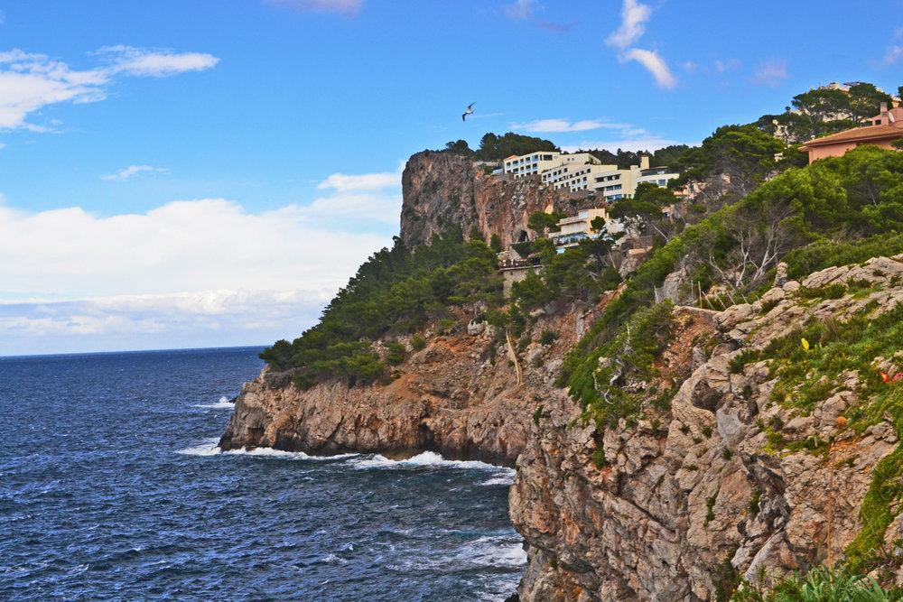 Cliffs at Port de Soller