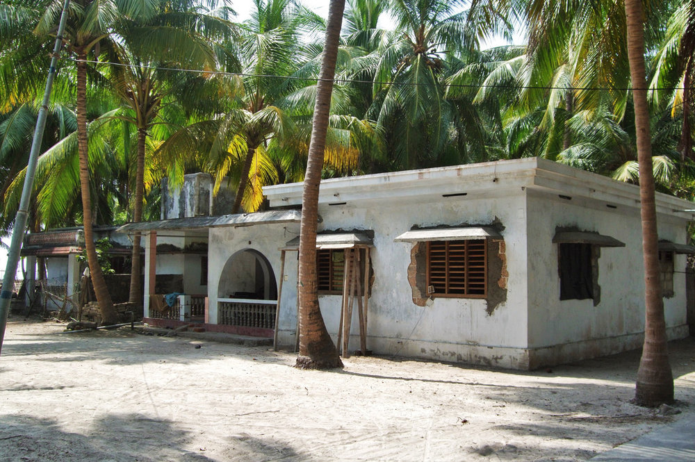 Typical house in Lakshadweep Islands