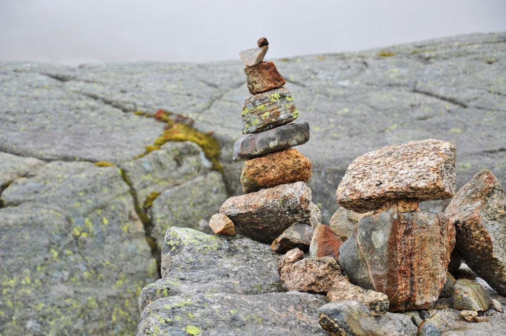 Stacks of stones