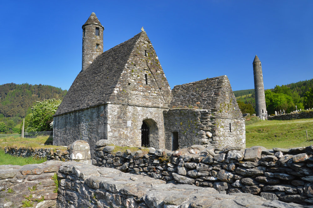 St. Kevin's church and the Round Tower