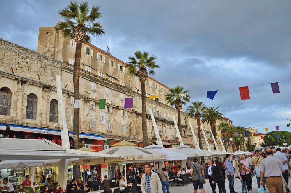 The Promenade in Split