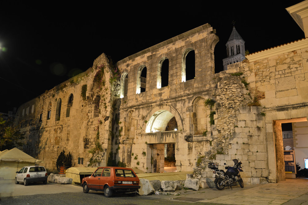 The Eastern Gate in Split