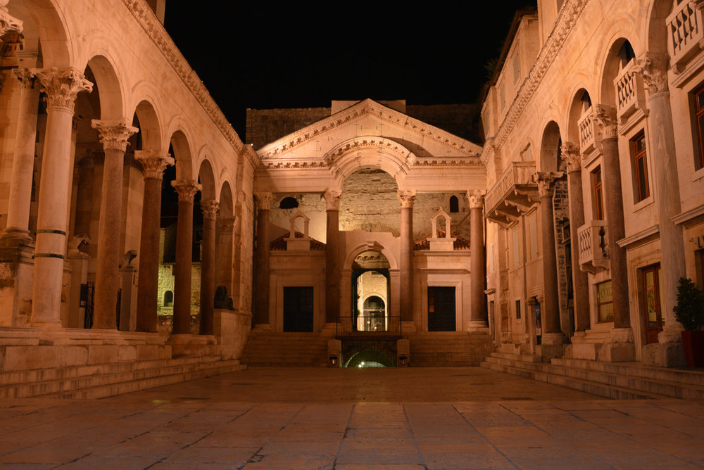 Split, Diocletian Palace, The Peristyle