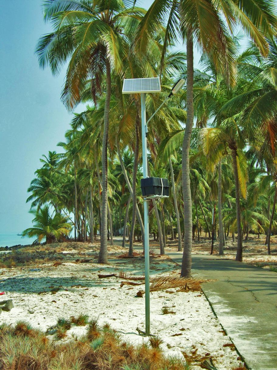 Streetlamp in Kadmat