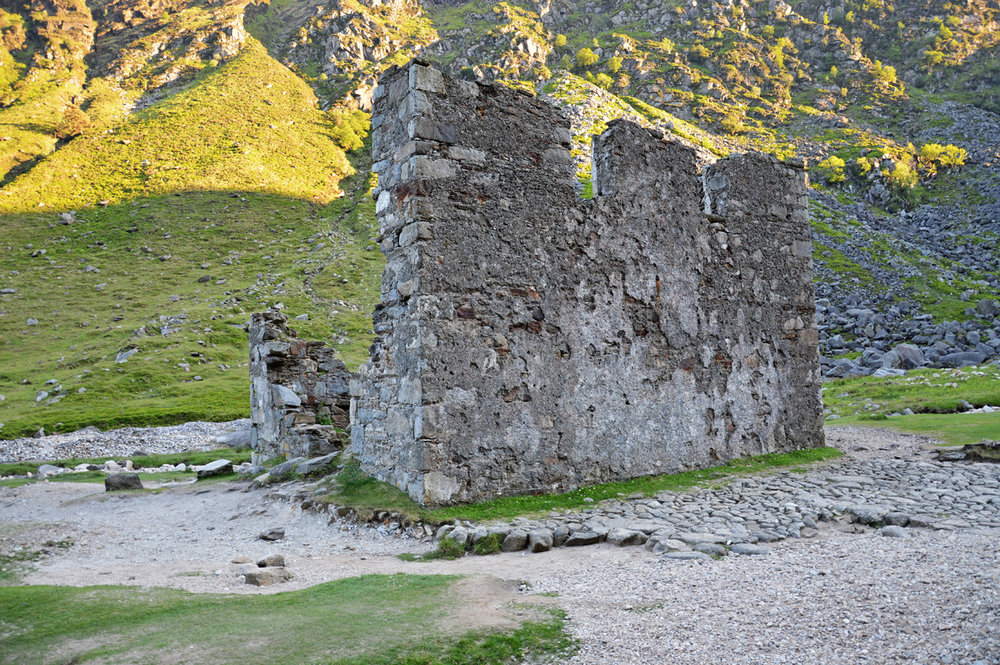 Ruins of the miner's village