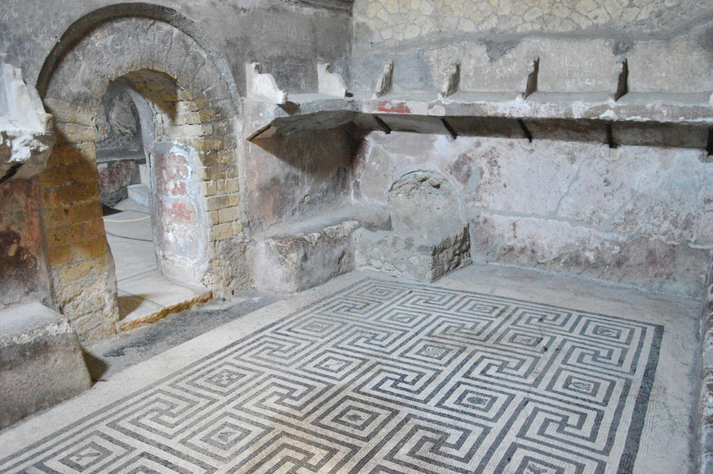 Baths in Herculaneum