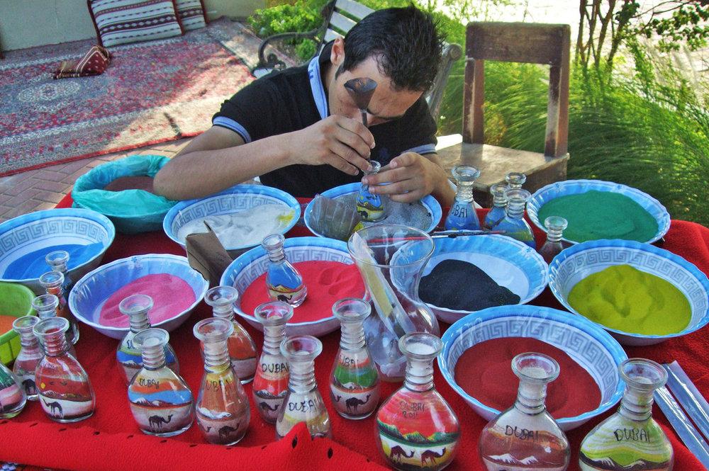 Sand bottles - original souvenir
