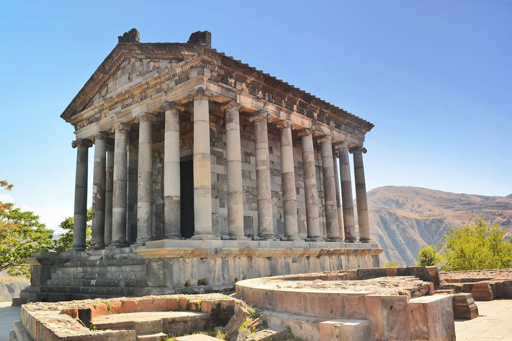 Garni Temple, more info  here