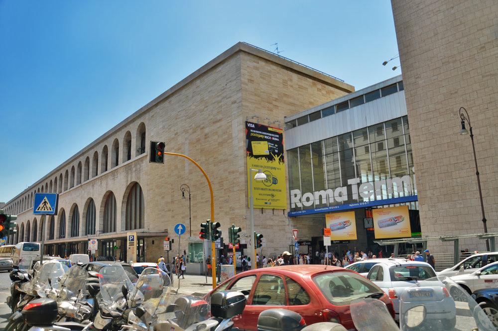 Roma Termini - Main railway station