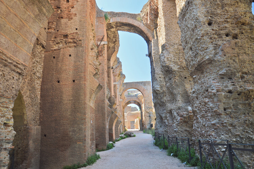 Palatine Hill - Ruins of the Imperial Palace complex