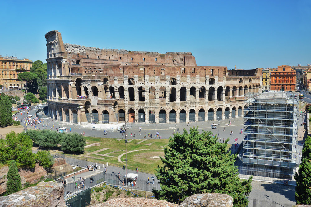 The Colosseum - View from the Palatine Hill