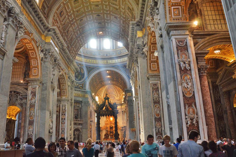 St. Peter's Basilica inside