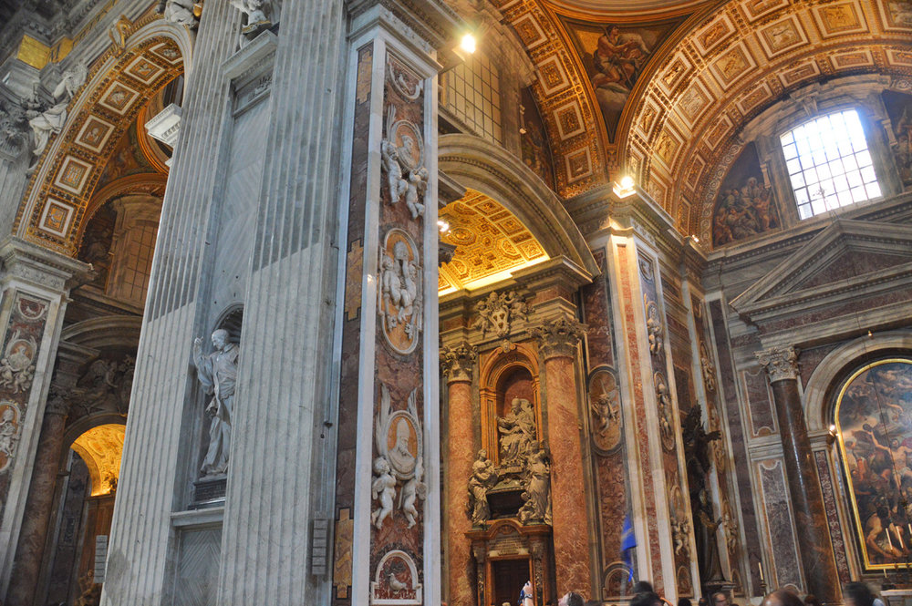 St. Peter's Basilica inide