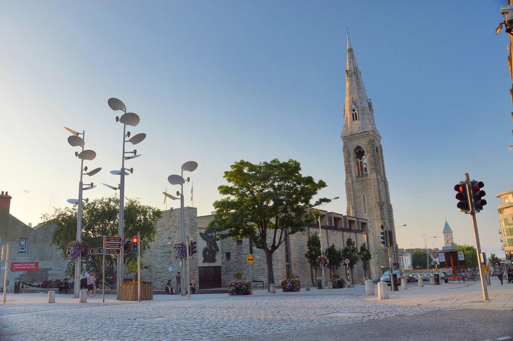 Dun Laoghaire - town center