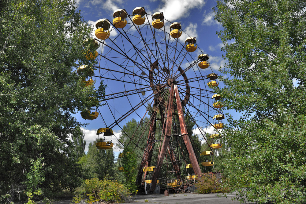 Amusement park in Pripyat