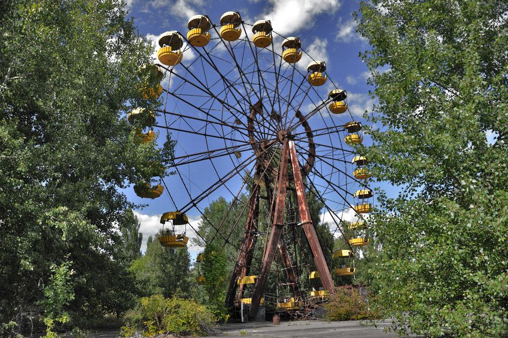 Amusement park in Pripyat