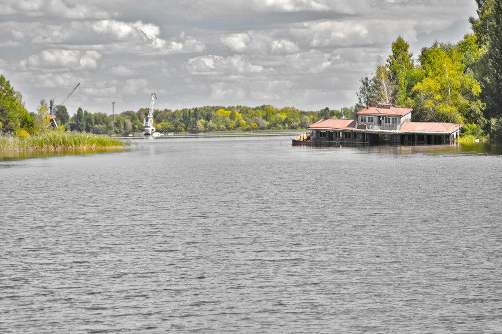 River in Pripyat