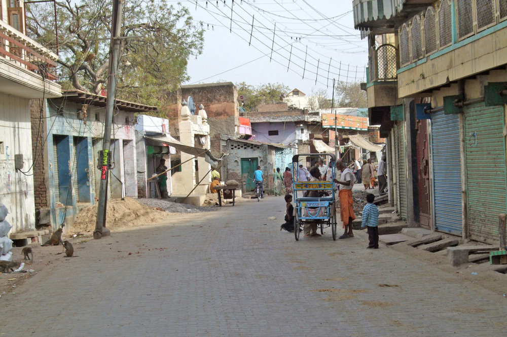 Street in Mathura