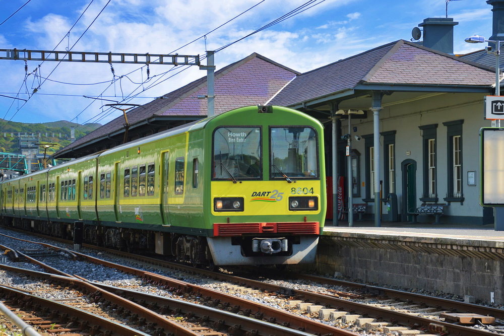 Dart - Train connecting Bray and Dublin
