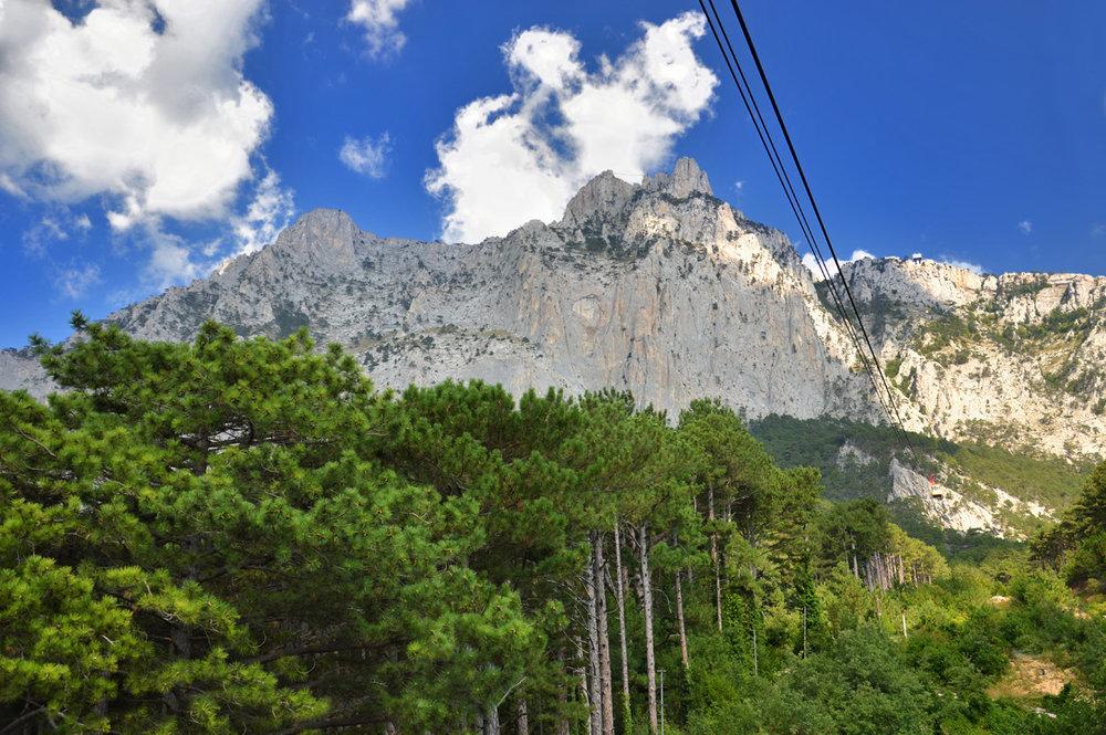 Ai Petri peak