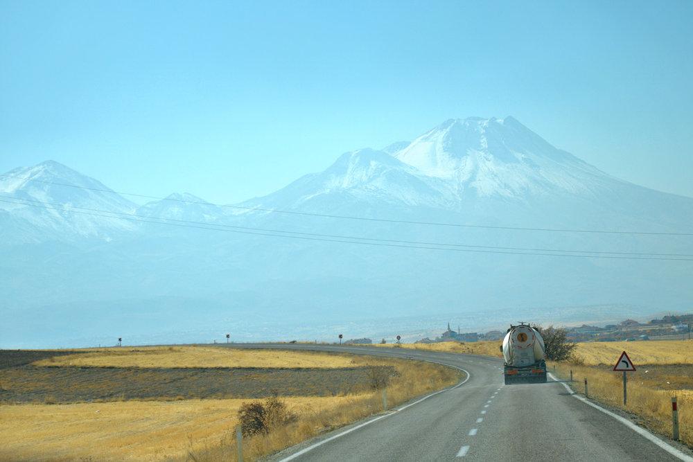 Mount Hasan, on the way to Ihlara