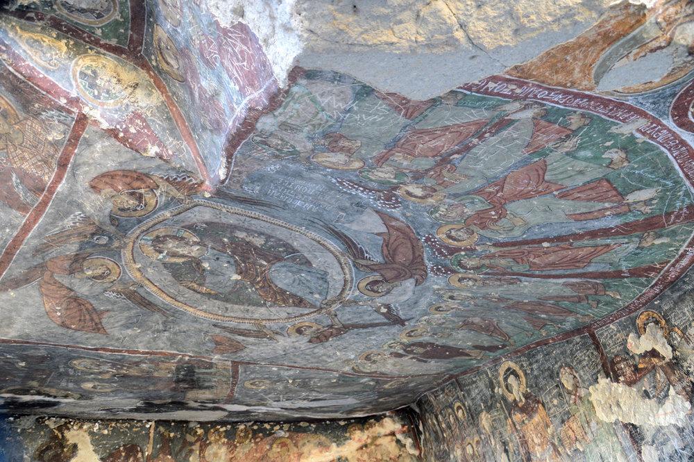 Frescoes in Kirkdamantli (St. George's) Church