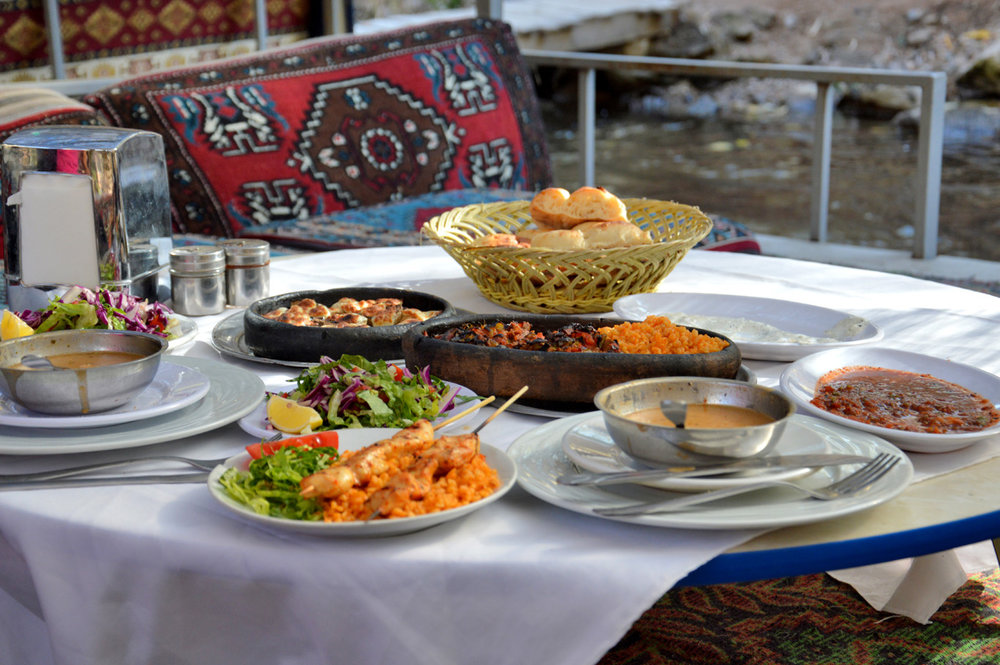 Delicious Turkish meal