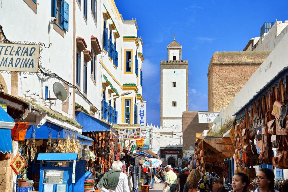 Essaouira - souks in Medina