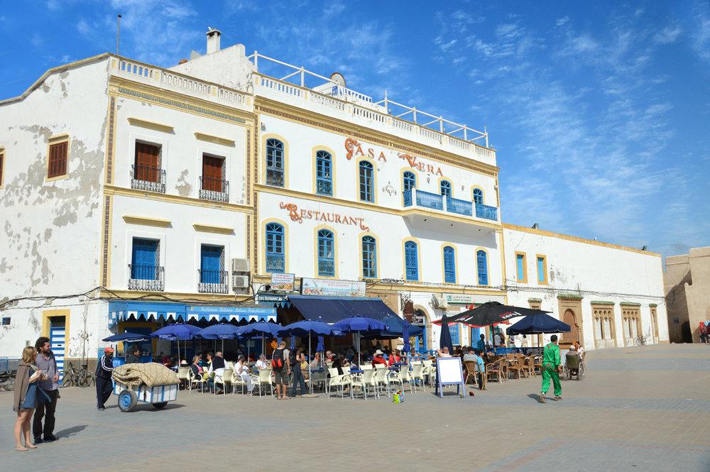 Portuguese architecture in Essaouira