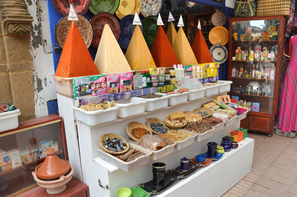 Spice stand in the souks